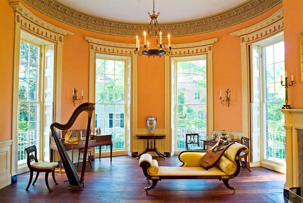 The Drawing Room featuring a harp