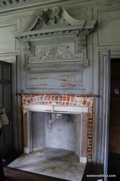 The Withdrawing Room fireplace