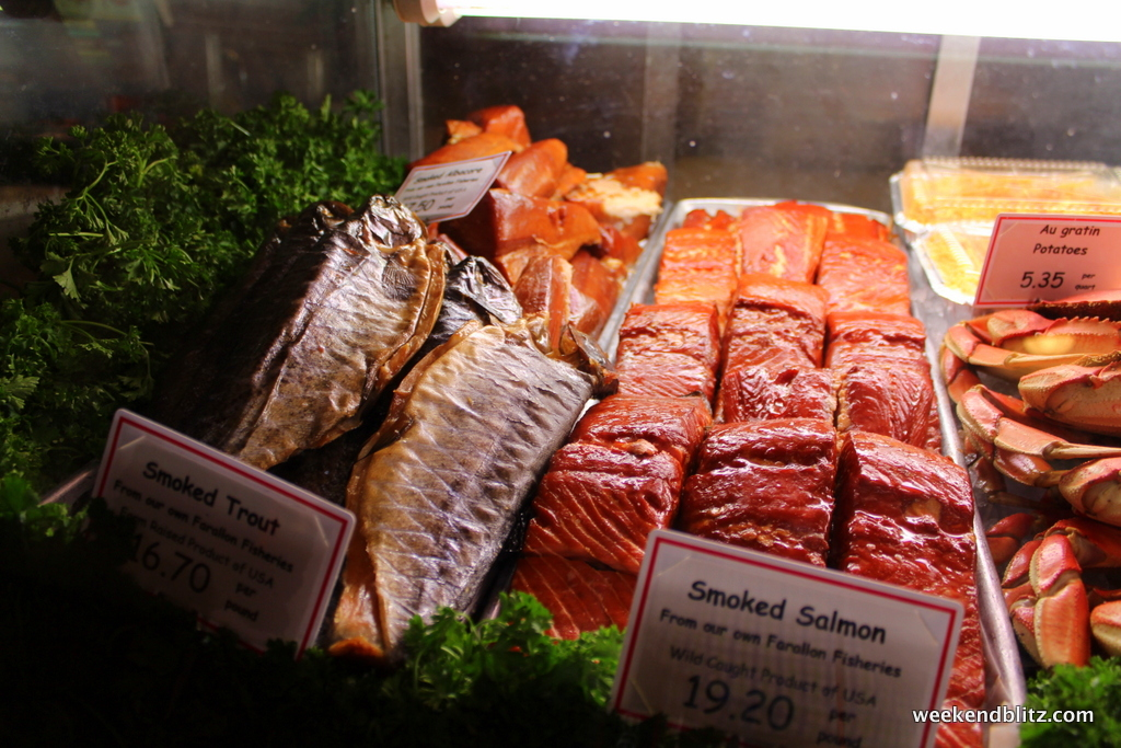 The fish market san diego california weekend blitz for Fish market hours
