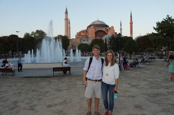 Here are my TOMS making an appearance at the Hagia Sophia in Istanbul