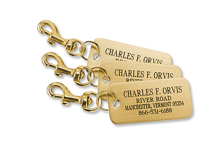 A set of 3 is just $39 from Orvis with free engraving!