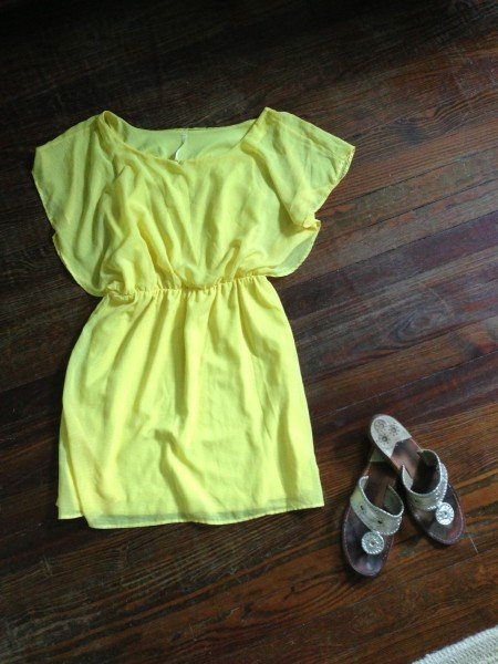 Sunday:  We don't have any plans for Sunday yet, so I'm packing a light summer dress that will be good for the MET or Central Park