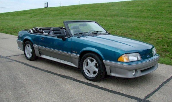 93mustangconvertable