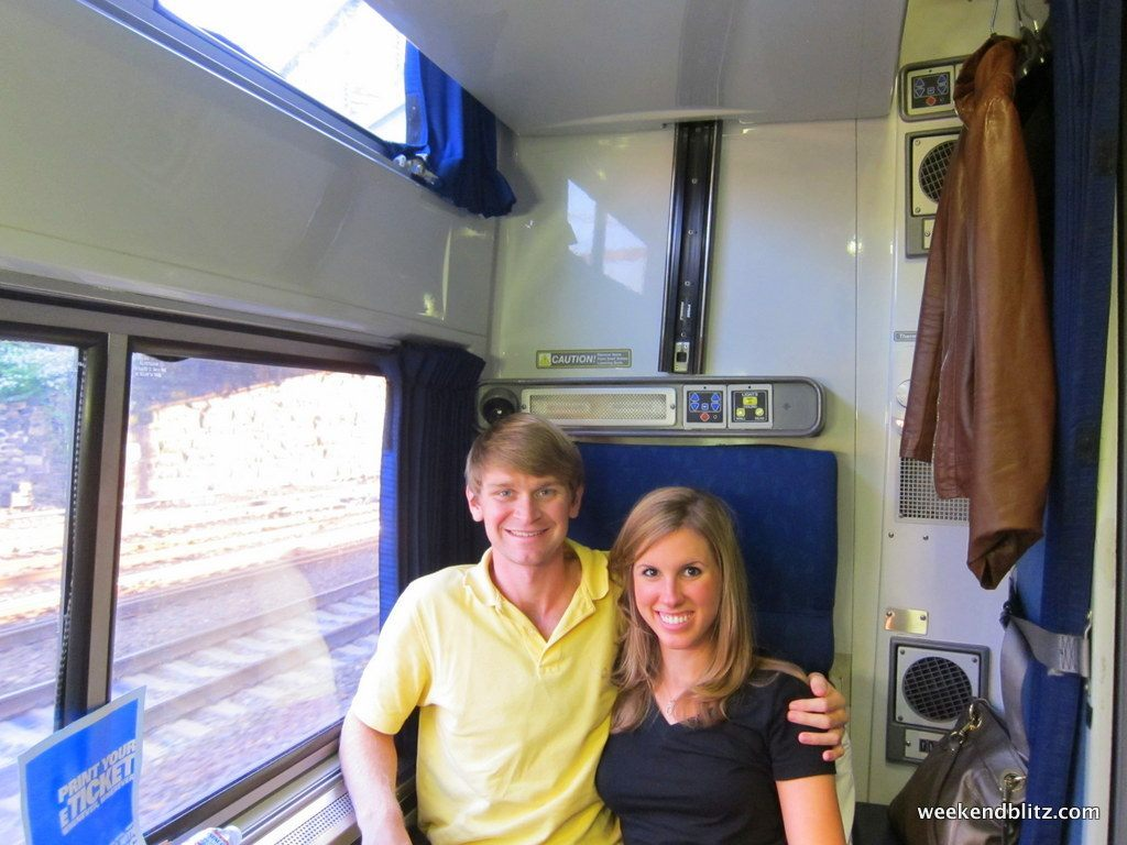 Amtrak Silver Meteor 98 Roomette Charleston To New York