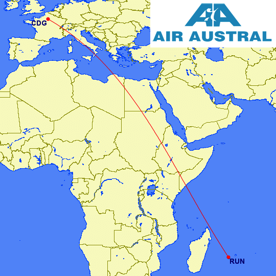 Top 10 longest domestic flights in the world weekend blitz in addition to the cdg run route air france air caraibes and corsair international operate flights from paris ory to reunion run which is just 7 miles publicscrutiny Images