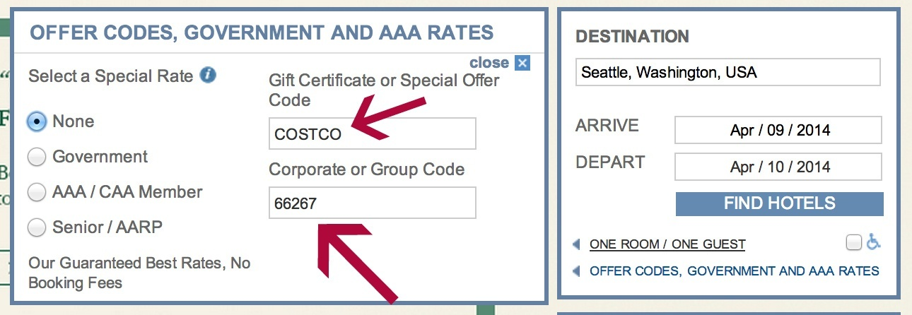 costco discount code beats aaa discount at hyatt sometimes