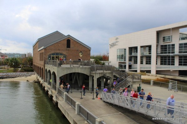 Entrance to the Fort Sumter Museum