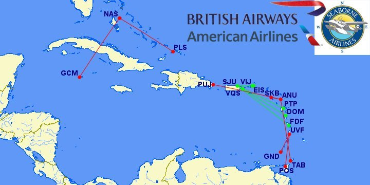 Caribbean Island Hop with British Airways Avios (only 4,500 points ...