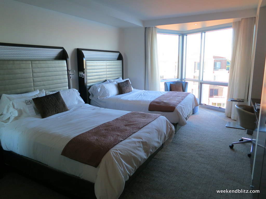The W Hoboken Has A Great Design That Allows Even Rooms Aren T Directly Facing Manhattan To Have An Awesome View Of City