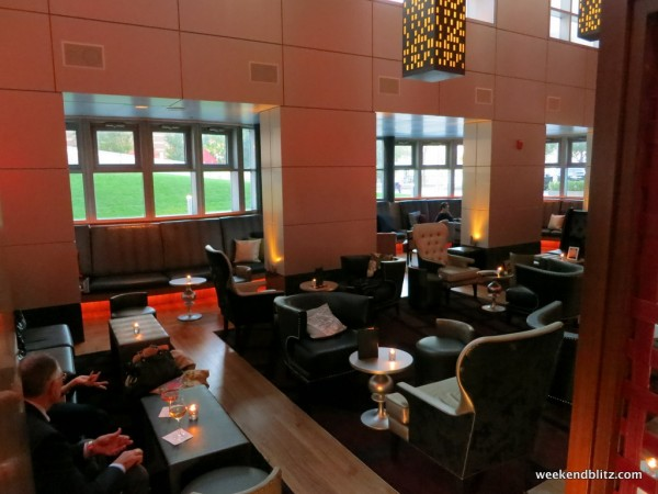 Bar lounge area