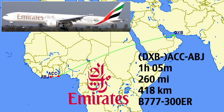 Top 16 Longest Emirates Fifth Freedom Routes: Coming to a City Near ...