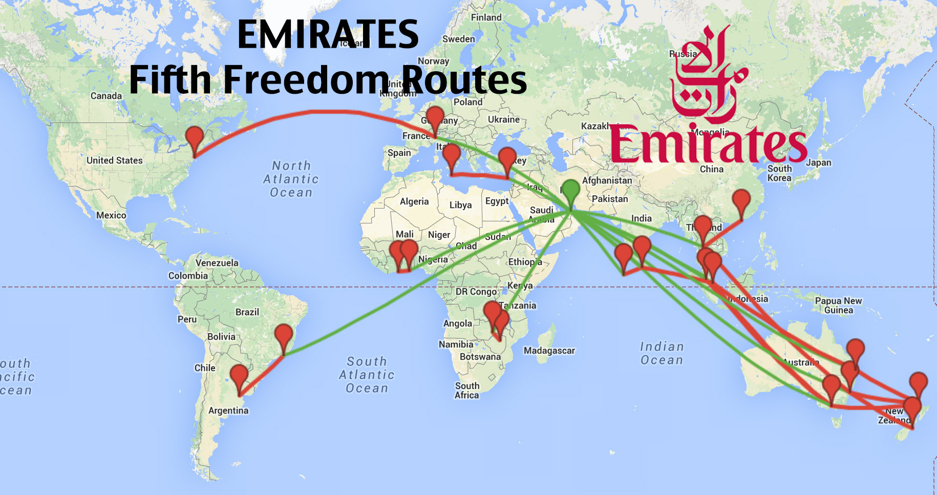 Top 16 longest emirates fifth freedom routes coming to a city near top 16 longest emirates fifth freedom routes coming to a city near you publicscrutiny Choice Image