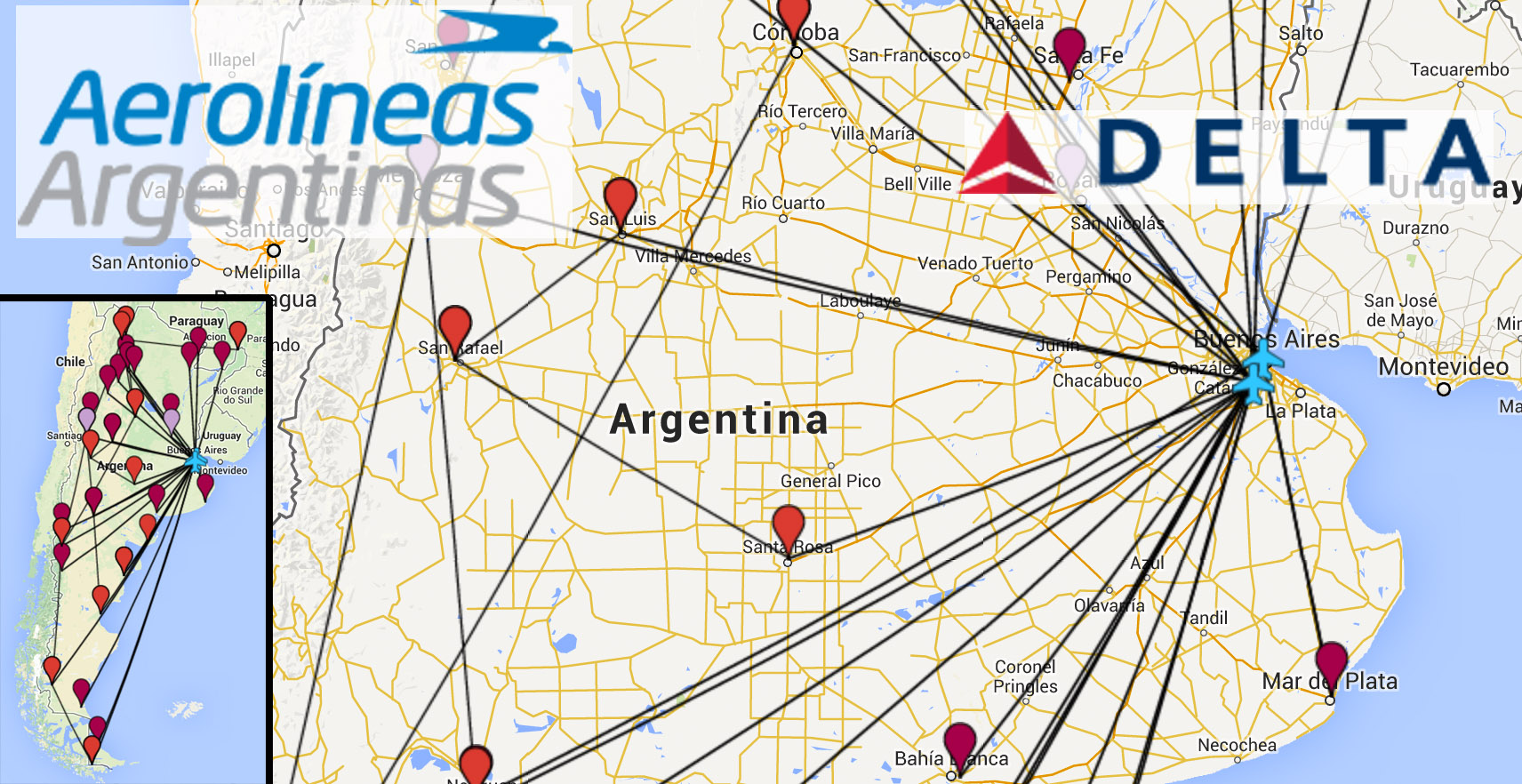 booking an awesome argentina itinerary with delta