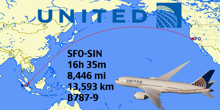 Top 14: Longest United Airlines Flights In the World | Weekend Blitz