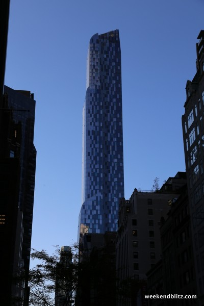 This brand new building houses the Park Hyatt in the first 25 floors.