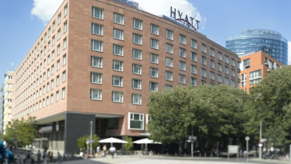 Grand Hyatt Berlin outside