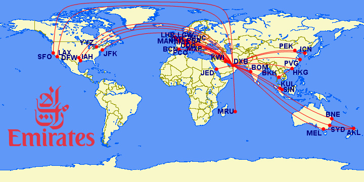 Airbus A380 Current Routes And Operators Weekend Blitz