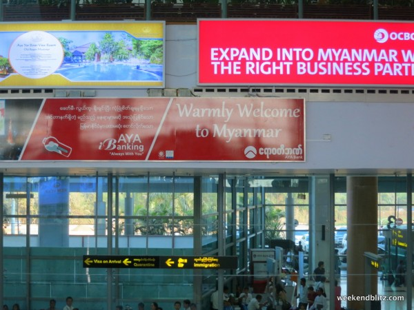 """Warmly Welcome to Myanmar""...I really hope the pun was intended here, this place is HOT"