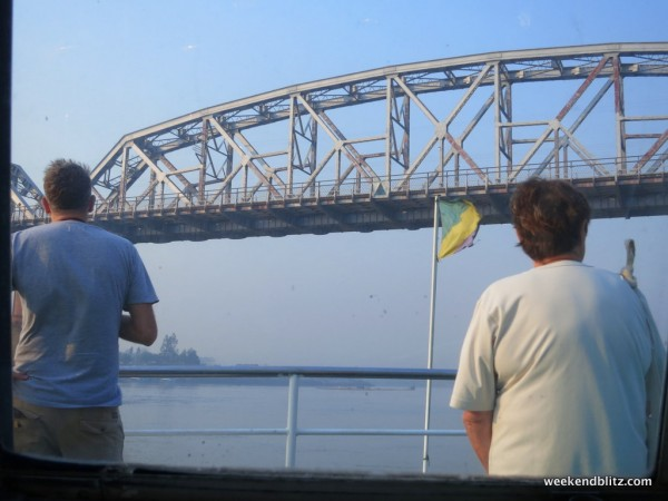 The Ava Bridge: rebuilt in 1954 after Burmese Independence (and after the British destroyed it during WWII)