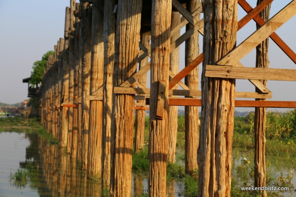 World's longest teak bridge