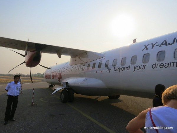 Our aircraft: ATR 72-500
