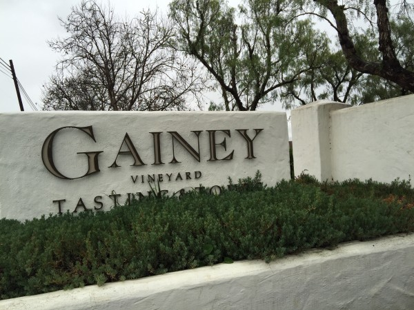 Gainey Vineyard in Santa Ynez
