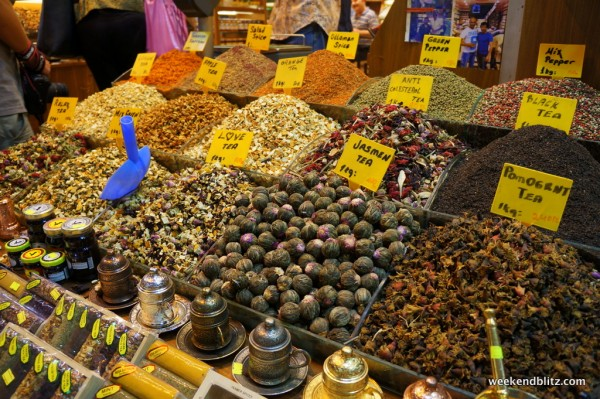 Egyptian Spice Market in Istanbul