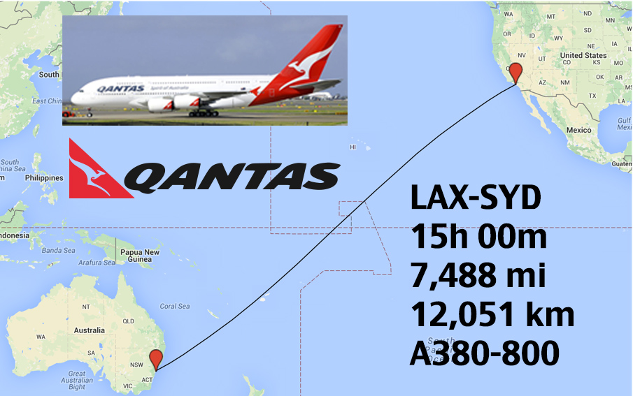 top 20 longest airbus a380 routes in the world weekend. Black Bedroom Furniture Sets. Home Design Ideas