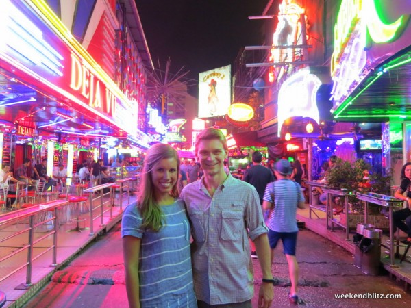 Being tourists on Soi Cowboy