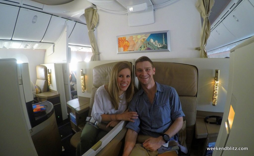 American AAdvantage Redemption: Business Class on Etihad to